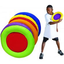 Pebble frisbee
