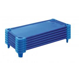 Sada postýlek 6 ks - modré