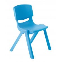 Židlička plastová modrá