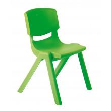 Židlička plastová zelená
